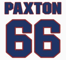 National football player Lonie Paxton jersey 66 by imsport