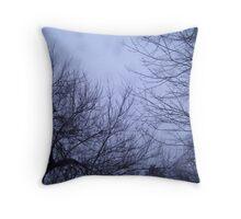 Tress & The Sky Throw Pillow