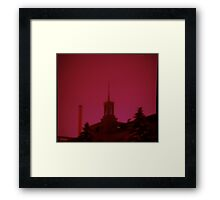 0210 - HDR Panorama - Night Life 2 Framed Print