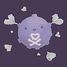 Heart Koffing by BrittanyPurcell