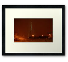 0211 - HDR Panorama - Night Life 3 Framed Print