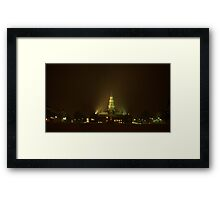 0214 - HDR Panorama - Night Life 4 Framed Print