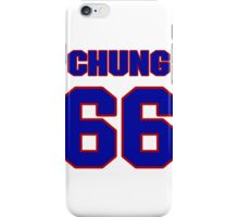 National football player Eugene Chung jersey 66 iPhone Case/Skin