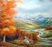 Autumn Afternoon by leonard aitken