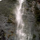 Milford Waterfall by SirDidymus