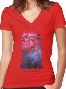 Trip of a Lifetime shirt Women's Fitted V-Neck T-Shirt