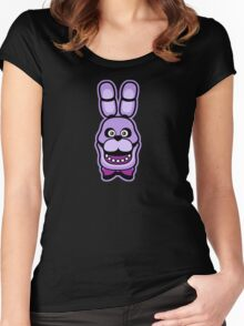 BONNIE BUNNY Women's Fitted Scoop T-Shirt