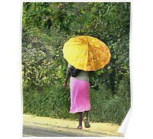African Sunscreen Poster