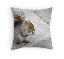 Nibbles! Throw Pillow