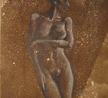 reflective nude by Teagan Watts