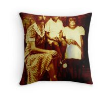 Happy Families Of The Nuclear Age Throw Pillow