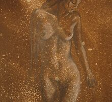 nude- in progress by Teagan Watts