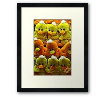 UhOh, Look! Framed Print