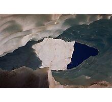 Ice Caves  Photographic Print