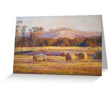 Fields of Gold - Tallarook Greeting Card