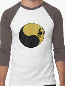Motor Cross Yin Yang Men's Baseball ¾ T-Shirt
