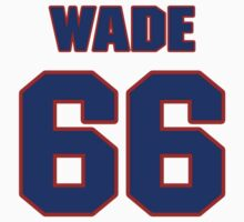 National football player John Wade jersey 66 by imsport