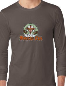 Monkey Zen Long Sleeve T-Shirt