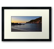 Alma bay Framed Print