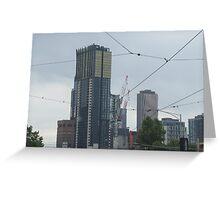 Melbourne skyscraper Greeting Card