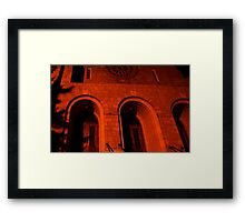 0310 - HDR Panorama - 3AM Bastion Framed Print