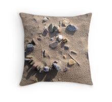 stone circle Throw Pillow