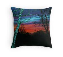 Beautifull sun rise Throw Pillow