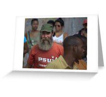 Fidel lookalike, Havana Greeting Card