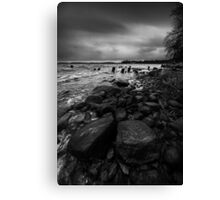 I will strike upon thee with great vengeance Canvas Print