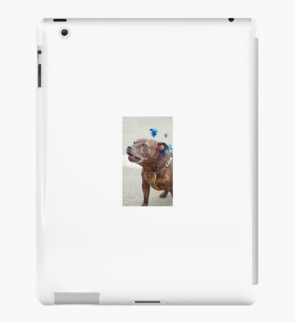 I'm having a Howling good Time - Merry Xmas! iPad Case/Skin
