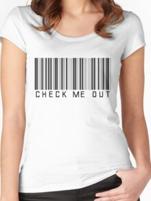 Check Me Out Women's Fitted Scoop T-Shirt
