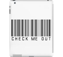 Check Me Out iPad Case/Skin