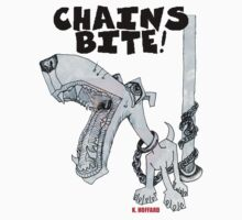 Chains Bite - Dogs Deserve Better T-Shirt
