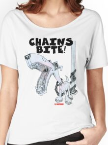 Chains Bite - Dogs Deserve Better Women's Relaxed Fit T-Shirt