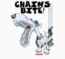 Chains Bite - Dogs Deserve Better Unisex T-Shirt