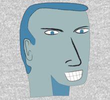 Blue Faced Man by Ron Fez Fan