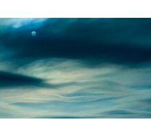 Moon or Sun? Photographic Print