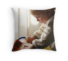 Our Little Mozart Throw Pillow