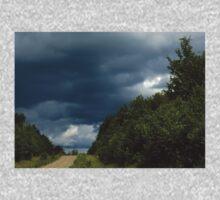 0376 - HDR Panorama - Heavy Sky Kids Tee