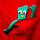 """Hi RedBubble"", said Gumby. by Michael J Armijo"