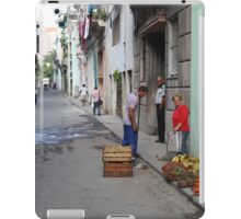 Street scene, Havana iPad Case/Skin