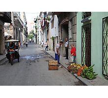 Street scene, Havana Photographic Print