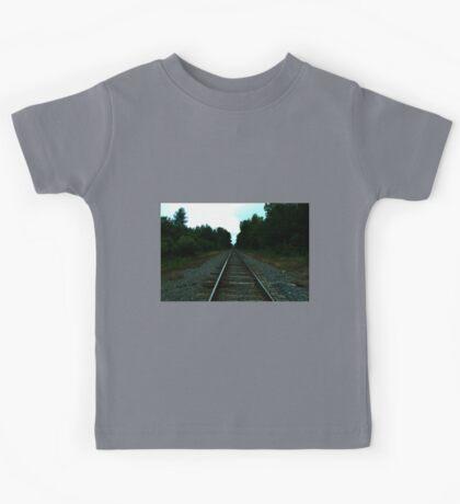 0393 - HDR Panorama - Long Rails Kids Tee