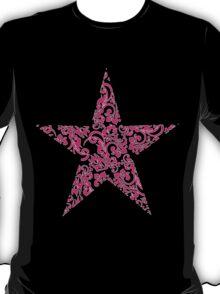 floral star T-Shirt