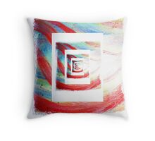 Artistic Feedback Throw Pillow