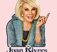 Joan Rivers 2 - Giving the Finger by Everett Day