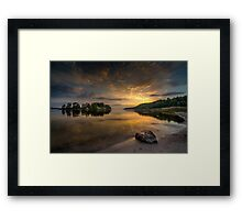 Serenity by dawn Framed Print