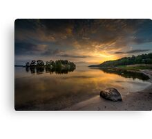 Serenity by dawn Canvas Print