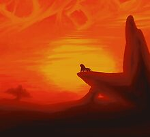 The Lion King by AshleighJaneArt