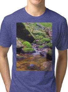 Relaxing long exposure Tri-blend T-Shirt